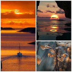 Greece...sunset....<3
