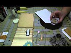 Scrapbook Mini Album: MME Sunshine Paper Bag Album, Part Two