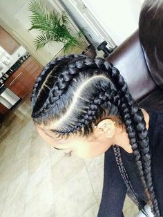 8 Big Corn Row Styles We Are Loving On Pinterest