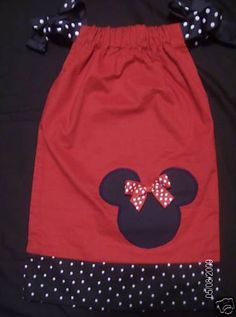Red Minnie Mouse Boutique Pillowcase Dress | DressesTressesandMore - Clothing on ArtFire