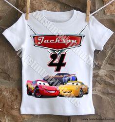 Cars 3 Birthday Shirt | Cars 3 Birthday Party Ideas | Cars Birthday Shirt | Cars Birthday Party Ideas | Jackson Storm Birthday Shirt | Birthday Ideas for Boys | Birthday Ideas for Girls | Twistin Twirlin Tutus #cars3birthday