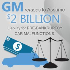 In a Nov. 5 bankruptcy court filing, General Motors (GM) and its Chapter 11 bankruptcy attorneys stated that the company shouldn't be held responsible for liabilities associated with faulty cars manufactured before the automaker filed for Chapter 11 bankruptcy help and reorganization in 2009.