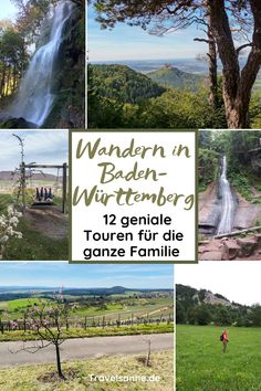 Hiking Baden-Württemberg: 12 of the most beautiful hikes with children - These 12 wonderful hikes with children in Baden-Württemberg offer great nature experiences for the - Brisbane, Surf, Cairns, Culture Travel, Outdoor Travel, Trekking, Family Travel, Adventure Travel, Travel Destinations