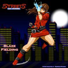 Blaze Fielding from Streets Of Rage