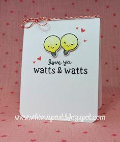 Whimsipost: Love Ya Watts & Watts