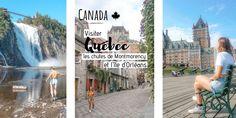 Visiter la ville de Québec, la chute Montmorency et l'île d'Orléans Chute Montmorency, Le Petit Champlain, Saint Laurent, Canada, The Neighborhood, Travel