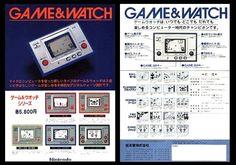 We love Game & watch -  www.the-arcade-company.com