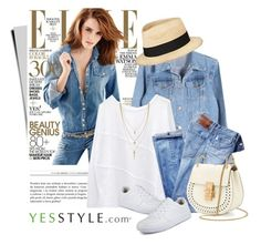 """""""YESSTYLE.com"""" by monmondefou ❤ liked on Polyvore featuring moda, J.ellpe, DANI LOVE, Eugenia Kim, Chloé, Cole Haan, love, springfashion i yesstyle"""