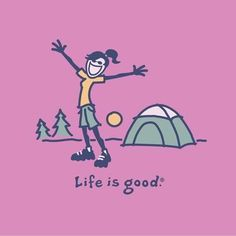 Life is good camping - Maternity Kayak Camping, Camping Glamping, Camping And Hiking, Camping Life, Camping Trailers, Camping Hammock, Camping Games, Winter Camping, Hiking Tips