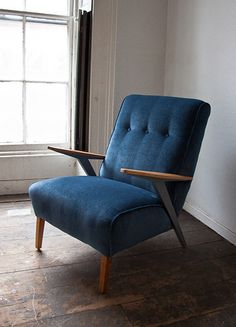 1950s Armchair from margo.and.jerry via ebay.co.uk