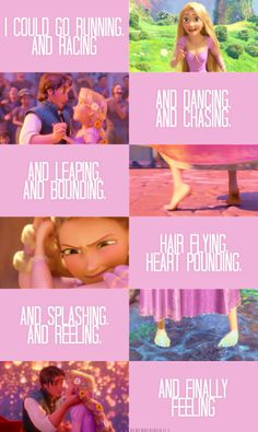 i relate the most to Rapunzel. I adore her. Disney Pixar, Disney Tangled, Disney And Dreamworks, Disney Animation, Disney Magic, Walt Disney, Tangled 2010, Tangled Rapunzel, Disney Infinity