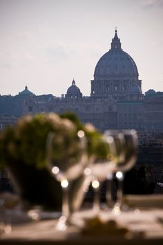 Wedding Dinner - private Villa Roma Casina Valadier  - Church Wedding in Rome - weddingplanner: www.prime-moments.com Wedding Dinner, Church Wedding, Rome Italy, Taj Mahal, Villa, Louvre, Building, Travel, Wedding