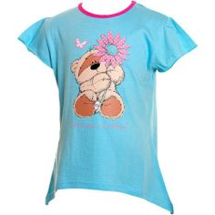 Girls Fizzy Moon Swing T Shirt Top White | eBay