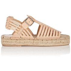 Loeffler Randall Woman Metallic Leather Espadrille Sandals Gold Size 6 Loeffler Randall