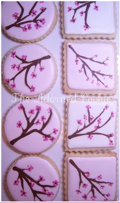 cherry blossom cookie #3