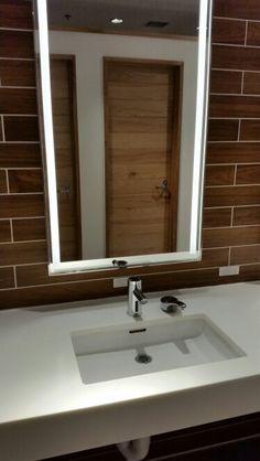 Modern sink and vanity idea