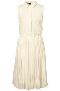 Midi pleat dress.:)