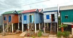 Lovely houses, Cambodia