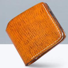 Overview: Design: Handmade Mens Cool Short Leather Wallet Men Small Wallets Bifold for MenIn Stock: Ready to Ship(2-4 days)Include: Only WalletCustom:NoColor