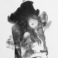 Your mind does things to my body, that your hands never could. Sexy Drawings, Couple Drawings, Art Drawings, Painting Love Couple, Couple Art, Anime Couple Kiss, Black And White Artwork, Black White, Art Folder