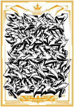 Wildstyle graffiti alphabet a z themeaseven by thedibsdibs 2 graffiti alphabet like graffiti then check httpgraff art shopshopify graffiti graffitiart graff thecheapjerseys Image collections