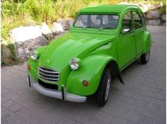 2cv 6 vert palmeraie 1974