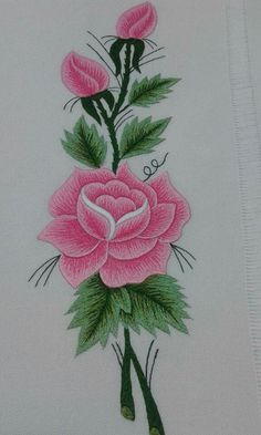The Beauty of Japanese Embroidery - Embroidery Patterns Hand Embroidery Flowers, Learn Embroidery, Hand Embroidery Stitches, Free Machine Embroidery Designs, Embroidery Kits, Ribbon Embroidery, Bordado Floral, Brazilian Embroidery, Japanese Embroidery