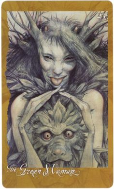 From The Faery Oracle by Brian Froud
