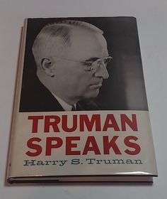 Truman speaks Signed By Harry S. Truman by TheVintageVagabonds on Etsy