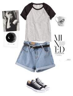 """mixed feelings"" by marsperezz ❤ liked on Polyvore"