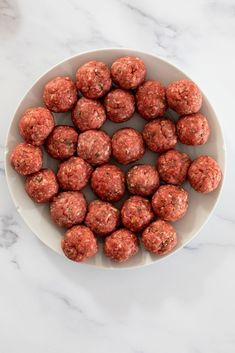 Meatballs flavored with Parmesan. #meatballs #easyrecipe Yummy Pasta Recipes, Easy Dinner Recipes, Dog Food Recipes, Easy Meals, Yummy Food, Tasty, Delicious Recipes, Dinner Ideas, Meatball Stroganoff