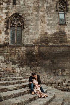 Honeymoon photoshoot   El Born, Barcelona, Spain   Photography: SerenaMorandi.com