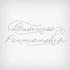 Business Penmanship font US$29