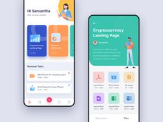 Exploration - Task App by Dwinawan Web Design, App Ui Design, User Interface Design, Design Layouts, Flat Design, Application Ui Design, Ui Design Mobile, Card Ui, Android Ui