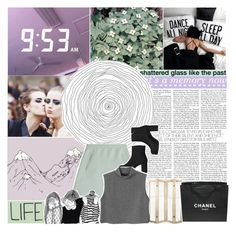 """""""110. DEDICATED TO KIMBERLY"""" by dear-maria-count-me-in ❤ liked on Polyvore featuring Chanel, Valentino and Monki"""