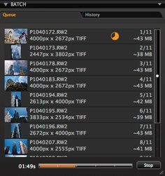 Capture One Pro 7 - How to process multiple file formats at once