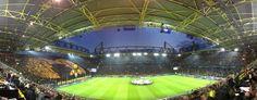 Signal-Iduna-Park-before Champions-League-vs-FC-Malaga