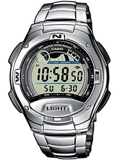 Casio W753D1AVES Mens Collection Blue Steel Digital Watch *** Find out more about the great product at the image link.(It is Amazon affiliate link) #70likes