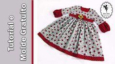 Vestido Joaninhas 2 a 7 anos