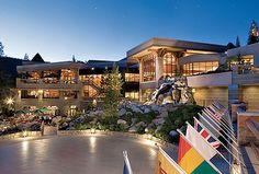 Resort at Squaw Creek in Lake Tahoe looks like the perfect Spring Break destination!