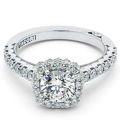 Tacori 372CU Engagement Ring- Genesis Diamonds