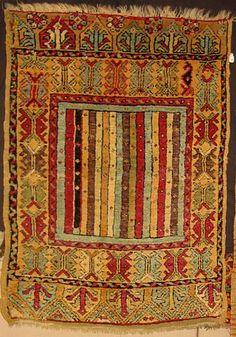 Yastik, Turkish, Central Anatolia, 19th century
