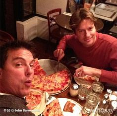 Our favorite Pizza Place in NYC Don Giovanni's On 44th btwn 8th and 9th. Jb