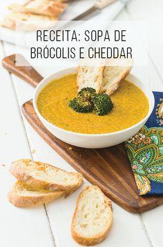 Receita de sopa de brócolis e cheddar, uma delícia! E o queijo ainda pode ser vegano! :o | palavras-chave: queijo vegano, sopa vegana, sopa vegetariana, receita vegana, receita vegetariana, sopa para o jantar, comida para esquentar no frio, comida saudável, cozinha, receita fácil para o jantar, receita rápida, receita simples.