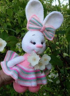 Adorable Crochet Bunnies Free Patterns #crochetbear