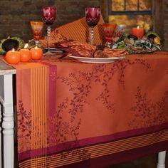 Tischläufer orange reduziert