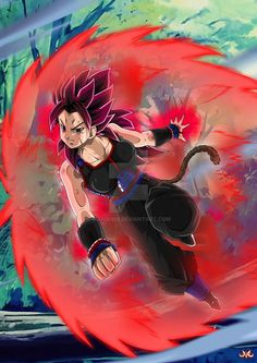 Hi folks ! Here is a work about Kirasha, a saiyan, using Kaioken . Asked by many many thanks to him