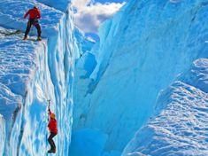 Enjoyable winter sport :  Ice climbing