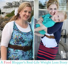 A Food Blogger's Real Life Weight Loss Story. So inspiring! And she did it by modifying her diet and exercise!