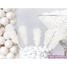 White Candy Buffet--choose your color and it shows you all the candy possible